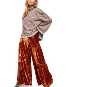 Free People Say La Vie Wide Leg Pants. 2
